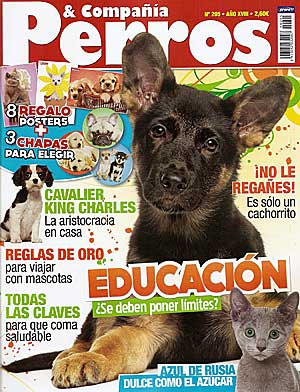 Revista Perros y Compañía, junio de 2011.
