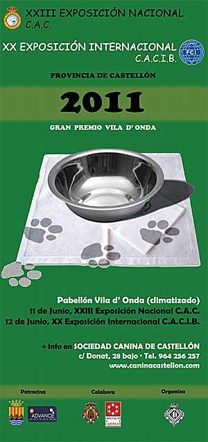 XX Exposición Canina Internacional de Castellón.