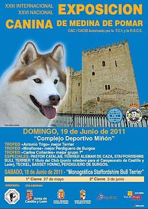 XXIII Exposición Canina Internacional de Medina de Pomar.