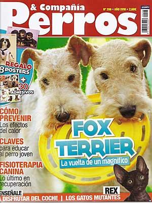 Revista Perros y Compañía, julio de 2011.