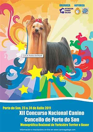 XII Concurso Nacional Canino de Porto do Son.