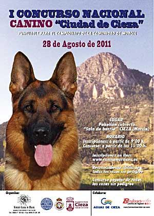 """I Concurso Canino """"Ciudad de Cieza""""."""