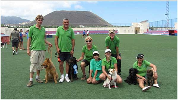 Clasificación final del Campeonato de Canarias de Agility 2011.