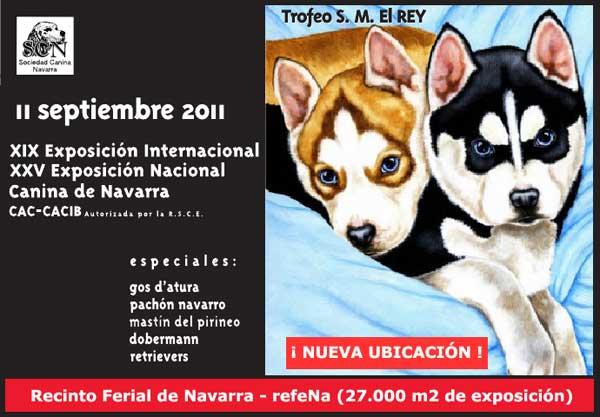 XIX Exposición Canina Internacional de Navarra.