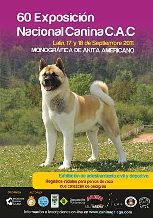 60 Exposición Canina Nacional de Lalín.