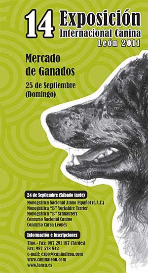 14ª Exposición Canina Internacional de León.