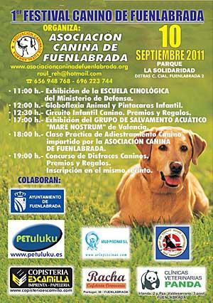 Festival Canino de Fuenlabrada.