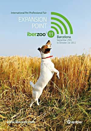 Iberzoo 2011. Feria Internacional para el Profesional del Animal de Compañía, 29 de septiembre a 1 de octubre en la Fira de Barcelona.