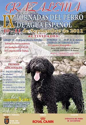 IX Jornadas del perro de agua español, en Grazalema