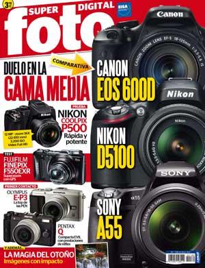 Hemos colaborado con la revista Super Foto (número 189, octubre 2011, página 76) en un reportaje sobre las técnicas empleadas para obtener las mejores fotografías de agility.