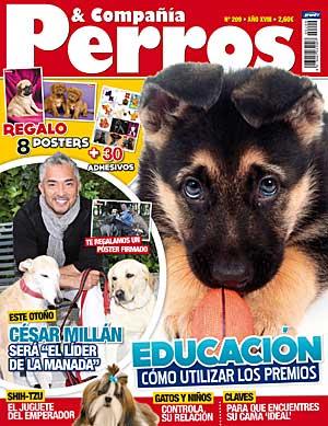Revista Perros y Compañía, octubre de 2011.