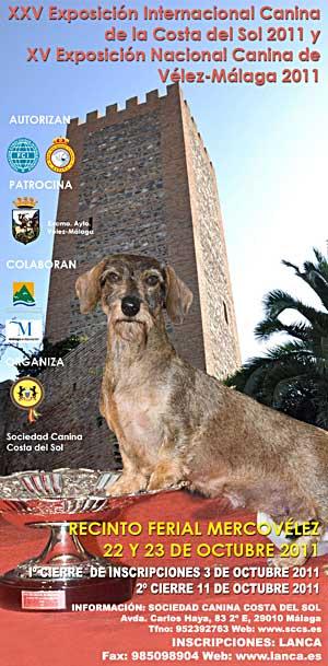 XXV Exposición Canina Internacional de Vélez Málaga.