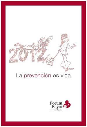 Calendario contra la leishmania de Forum Bayer.