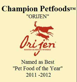 Orijen, mejor pienso del año 2011-2012.