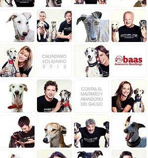 Calendario solidario BaasGalgo 2012.