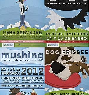 Durante los meses de enero y febrero de 2012, Campamento de Mascotas albergará en sus instalaciones una serie de seminarios caninos de fin de semana.