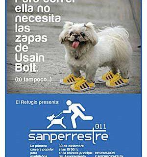 """""""Sanperrestre 2011"""", carrera por los perros abandonados."""