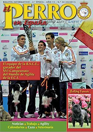 Revista El Perro en España, nº 34.