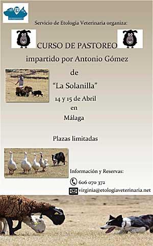 Curso de pastoreo en Málaga.