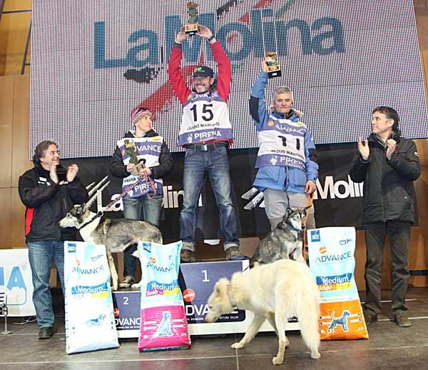 Pirena 2012, fiesta final, resumen de etapas y clasificación final.