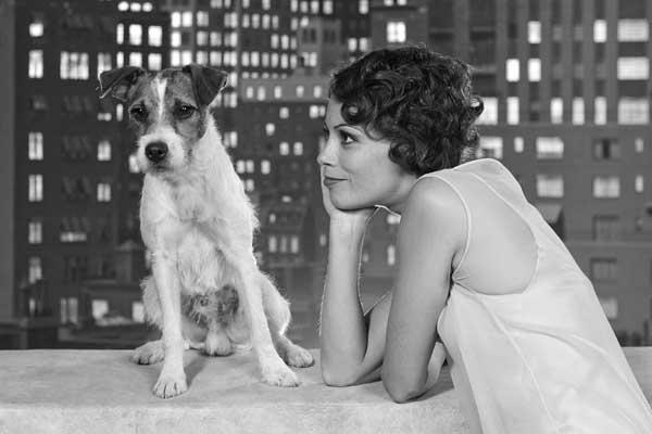 """Uggie, el perro que ha asombrado a todos con su participación en la multioscarizada película """"The Artist"""", esconde tras de sí una historia que no sale en los periódicos."""