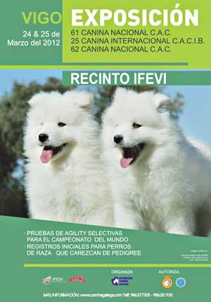 Exposición Internacional Canina de Vigo y pruebas selectivas de Agility, horarios, cómo llegar...