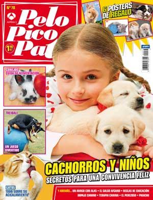Revista Pelo Pico Pata de abril, galgo afgano, cachorros y niños, treibball, dopaje en perros de deporte...