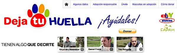eBay anuncios y FAPAM se unen en la primera campaña en España de micro-donaciones a favor de las mascotas abandonadas