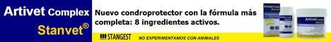 Condroprotector Artivet.