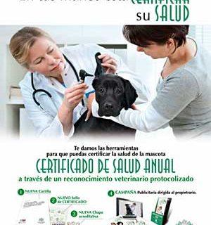 """Nueva Cartilla Veterinaria en la Comunidad de Madrid, que incluye el también nuevo """"Certificado de Salud Animal Recomendado""""."""