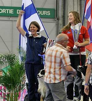 Clasificaciones finales del Campeonato del Mundo de Obediencia 2012. Vídeo de Jessica Svanljung, la nueva campeona del mundo de obediencia 2012.