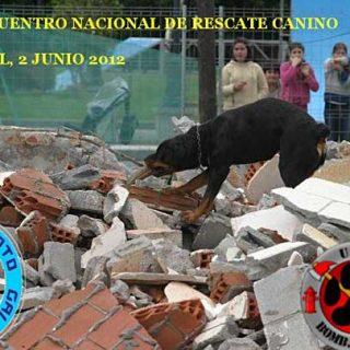"""""""Escomjbros"""", II Encuentro Nacional de Rescate Canino. Cans Salvamento Galicia y RESCAN Bomberos."""