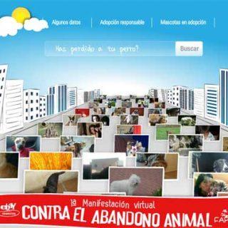 eBay Anuncios y FAPAM organizan la primera manifestación virtual contra el abandono animal.
