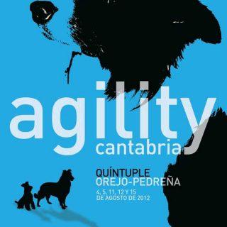 Agility en Cantabria, prueba quíntuple los días 4, 5, 11, 12 y 15 de agosto, en Pedreña.