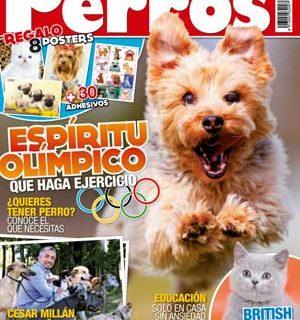 Revista Perros y Compañía, agosto de 2012: César Millán en España, ansiedad por separación, ejercicio...