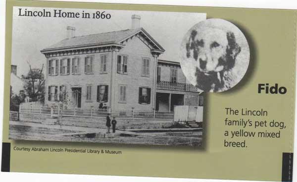 """Fido, el perro de Abraham Lincoln. ¿De dónde proviene el nombre """"Fido"""" para los perros?"""