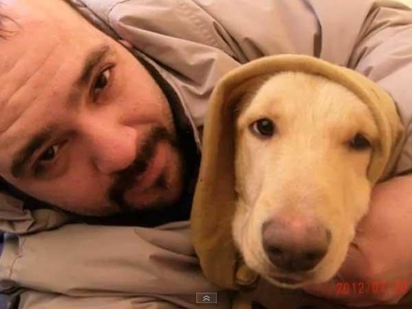 """Jorge y su perro """"Caminante"""" viajan <strong>a pie desde Ushuaia a Alaska</strong> para hacer una llamada de atención sobre el hambre que padecen millones de niños en el mundo y concienciar sobre los derechos animales."""