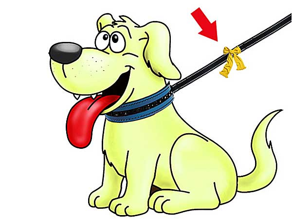 Una excelente campaña de una genial idea: los perros amarillos.