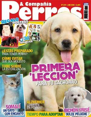Revista Perros y Compañía, septiembre de 2012: Bichón frisé, lecciones para cachorros, adopciones, aromaterapia para perros...