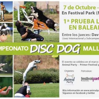 I Campeonato de Disc Dog en Mallorca, en Animal Party.