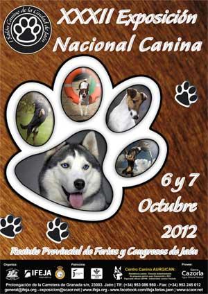 XXXII Exposición Nacional Canina de Jaén, cómo llegar, agenda de eventos, registro de raza...