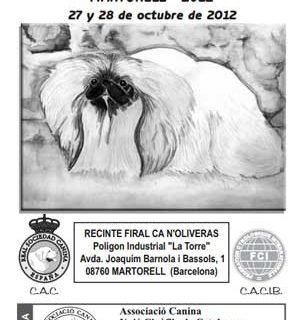 Expo Canina de Martorell BCN 2012, horarios, cómo llegar, expos concursos monográficos...