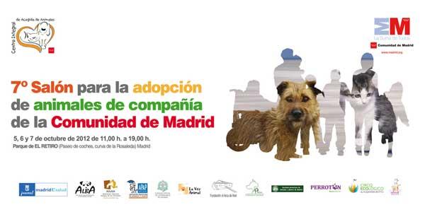 Salón de la Adopción de Madrid, los 5, 6 y 7 de octubre próximos en el Parque de El Retiro.