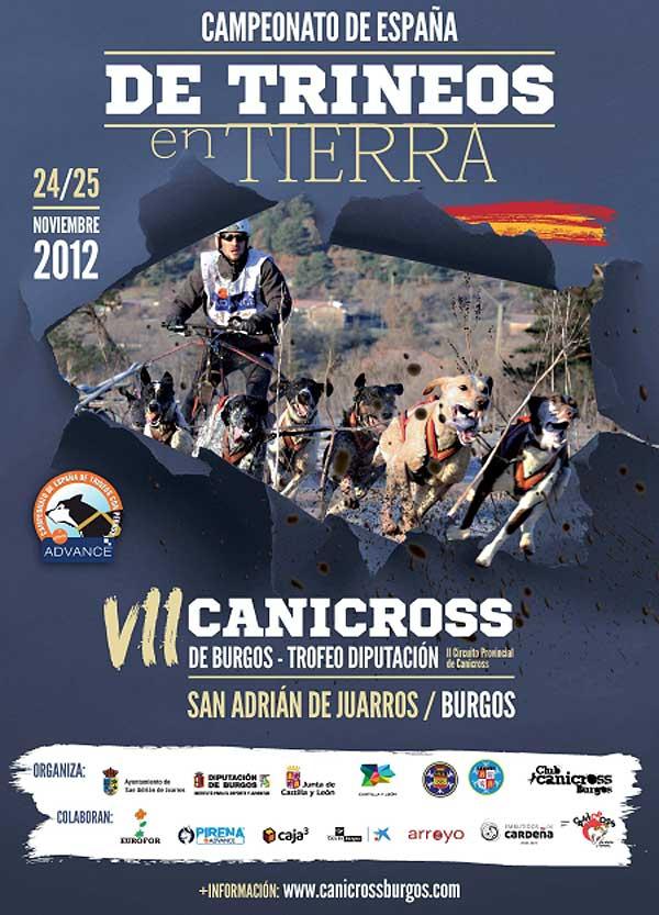 Récord de participación en el Cto. de España de Trineos con Perros sobre Tierra 2012