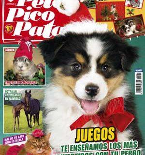 """Revista Pelo Pico Pata, enero 2013: las mascotas tras el huracán Sandy, """"Mi perro no me entiende"""", ideas para juegos con nuestros perros, el valor de los premios en la educación, qué hacer ante un perro perdido, los peligros de las comidas navideñas..."""