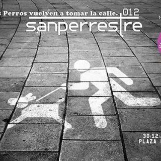 SanPerrestre 2012, carrera por los perros abandonados, próximo 30 de diciembre, a partir de las 10,00 de la mañana (salida en Cibeles, ida y vuelta a Neptuno).
