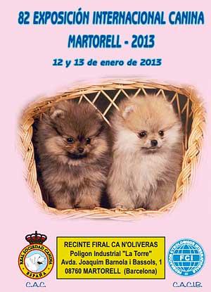 82 Exposición Canina Internacional Barcelona 2013, próximo fin de semana.