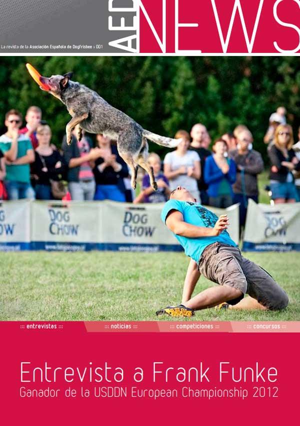 AEDNews. Revista de la Asociación Española de Dog Frisbee, descarga gratuita.