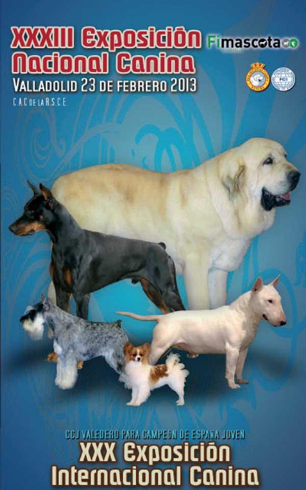 XXXIII Expo Canina Nacional y XXX Exposición Canina Internacional de Valadolid