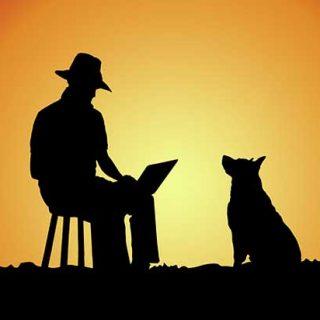 Electronic Swagman, la historia de Tommie y Raymond. #fotografía #perros.